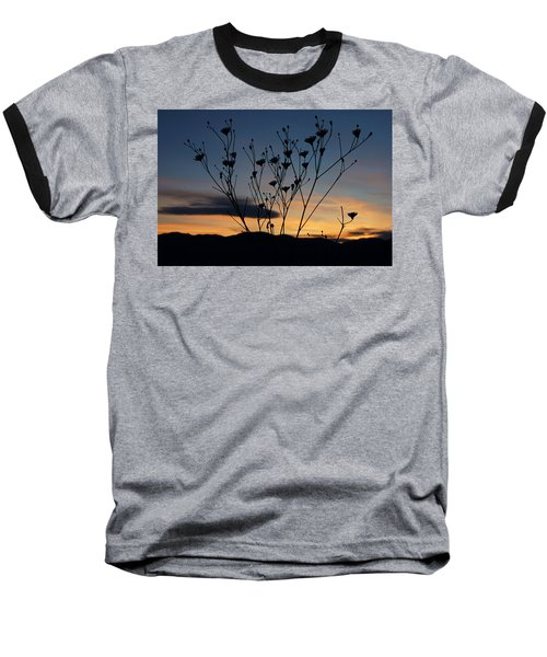 Baseball T-Shirt featuring the photograph Superbloom Sunset In Death Valley 103 by Daniel Woodrum