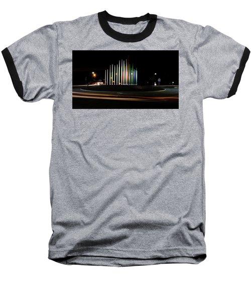 Superior Circle Art - Fort Wayne Indiana Baseball T-Shirt