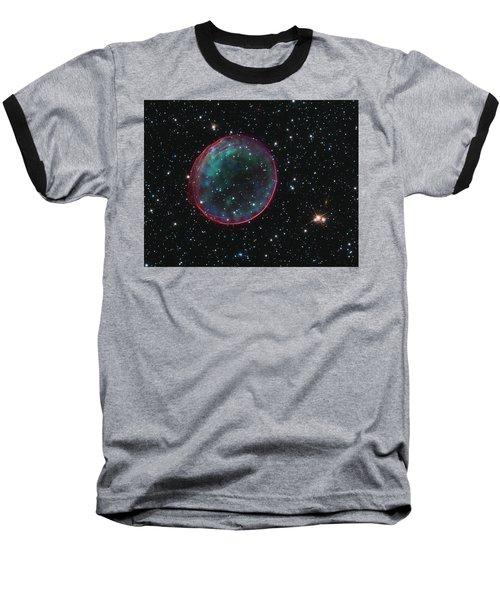 Supernova Bubble Resembles Holiday Ornament Baseball T-Shirt