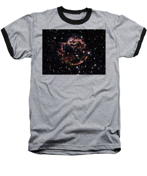 Baseball T-Shirt featuring the photograph Supernova Remnant Cassiopeia A by Marco Oliveira
