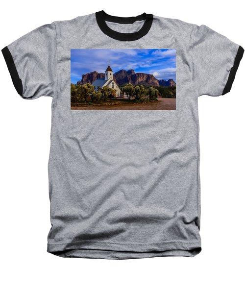 Superstition Church Baseball T-Shirt