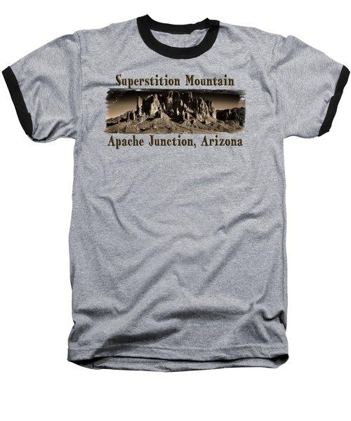 Superstition Mountain  Baseball T-Shirt