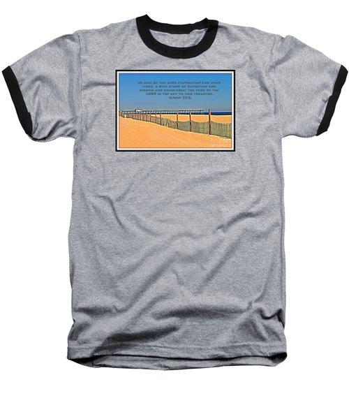 Sure Foundation Baseball T-Shirt