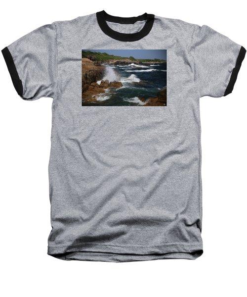 Surf At Biddeford Pool Baseball T-Shirt
