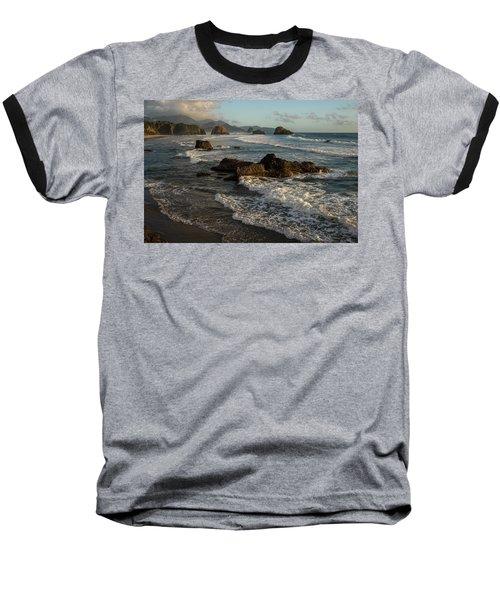 Surf At Crescent Beach Baseball T-Shirt