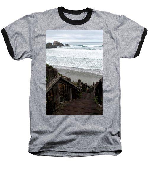 Surf Stairway Baseball T-Shirt