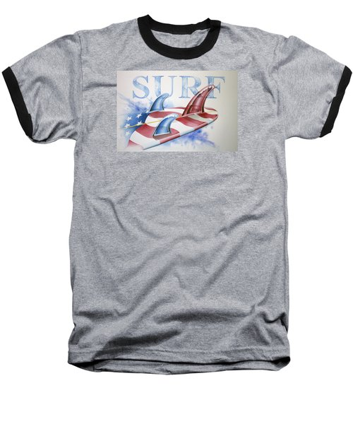 Surf Usa Baseball T-Shirt