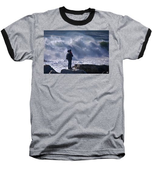 Surf Watcher Baseball T-Shirt