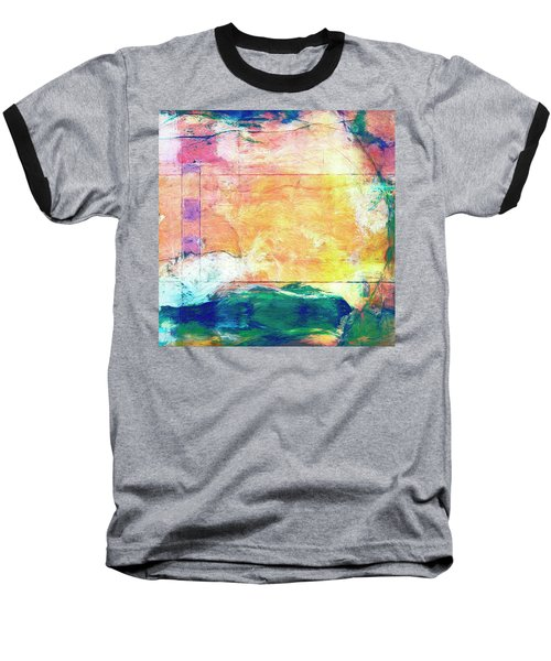 Baseball T-Shirt featuring the painting Surface Vector by Dominic Piperata
