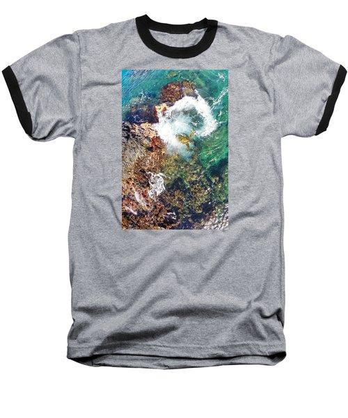 Surfacing Baseball T-Shirt by James Roemmling