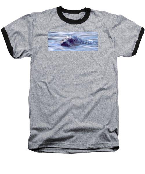 Surfacing Seal Baseball T-Shirt