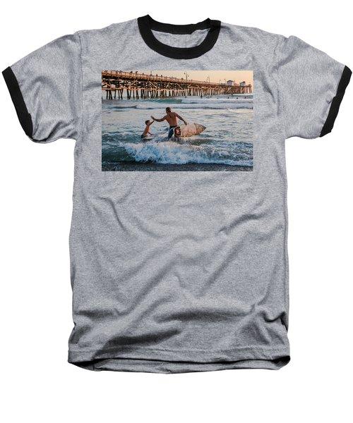 Surfboard Inspirational Baseball T-Shirt