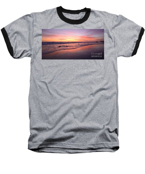 Surfer Afterglow Baseball T-Shirt