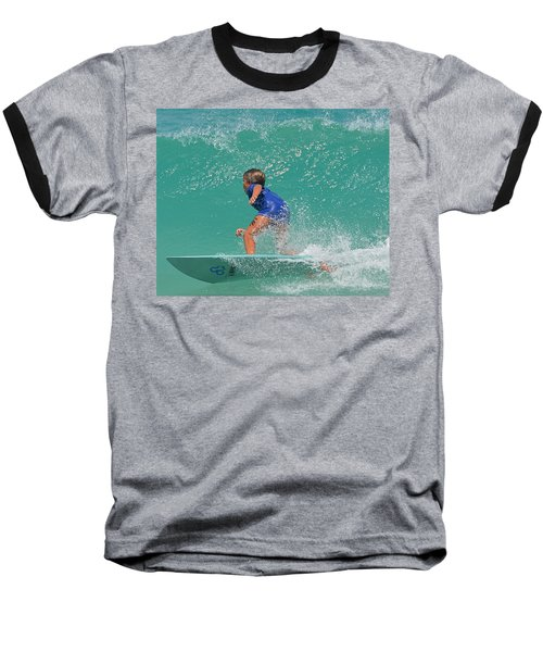 Surfer Boy Baseball T-Shirt