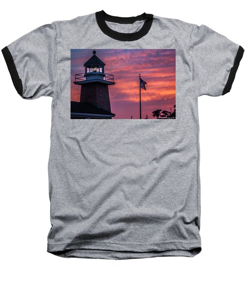 Surfing Museum Full Color  Baseball T-Shirt