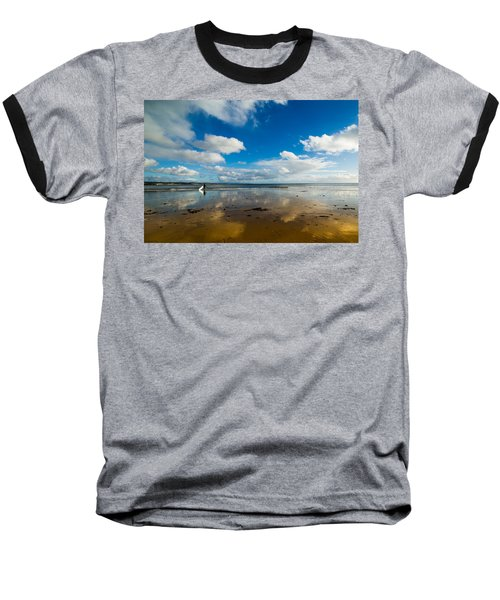 Surfing The Sky Baseball T-Shirt