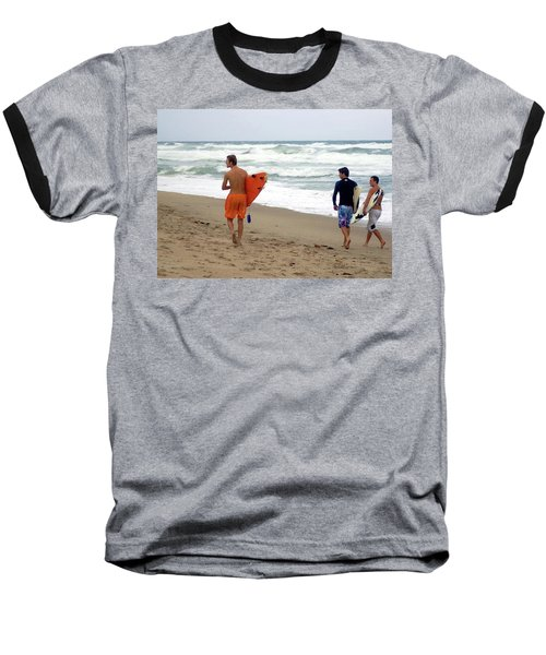 Surfs Up Boys Baseball T-Shirt