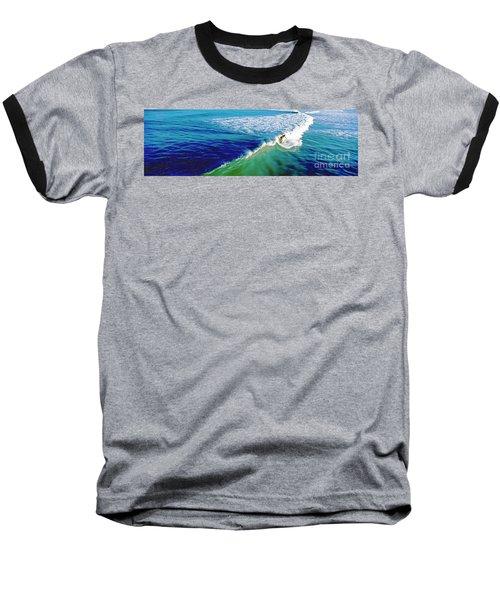 Surfs Up Daytona Beach Baseball T-Shirt