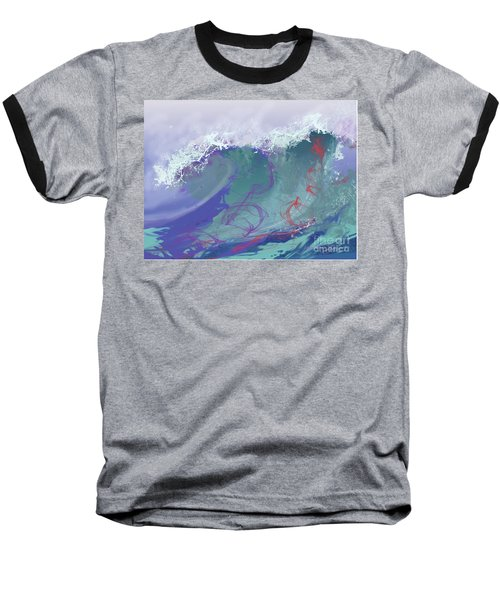 Surf's Up Baseball T-Shirt