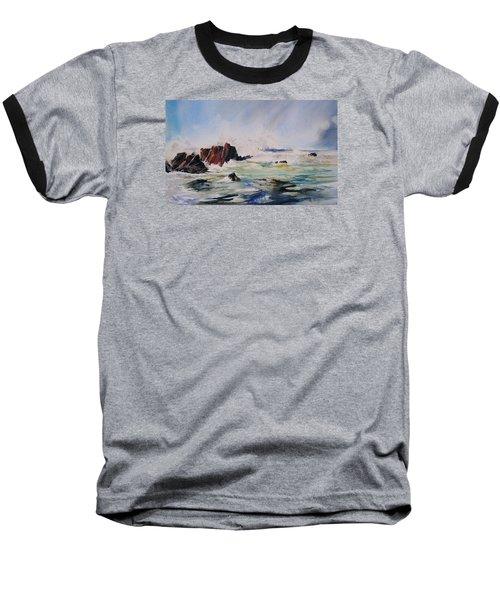 Surf's Up Baseball T-Shirt by P Anthony Visco