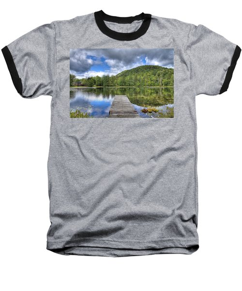 Baseball T-Shirt featuring the photograph Surprise Pond At Palmer Point by David Patterson