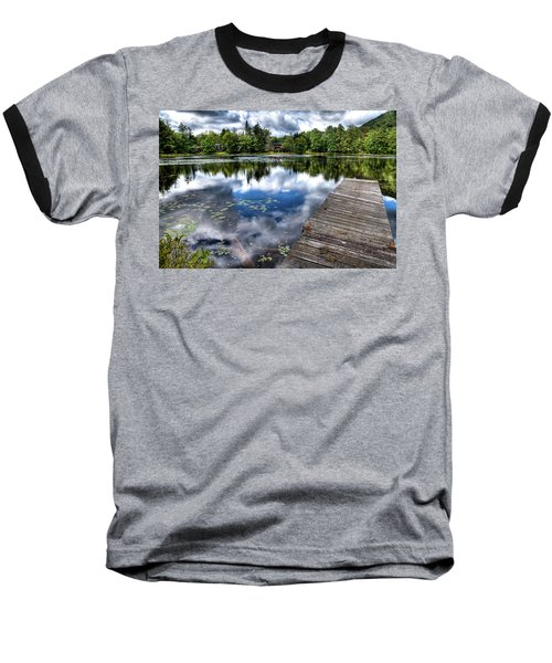 Baseball T-Shirt featuring the photograph Surprise Pond by David Patterson