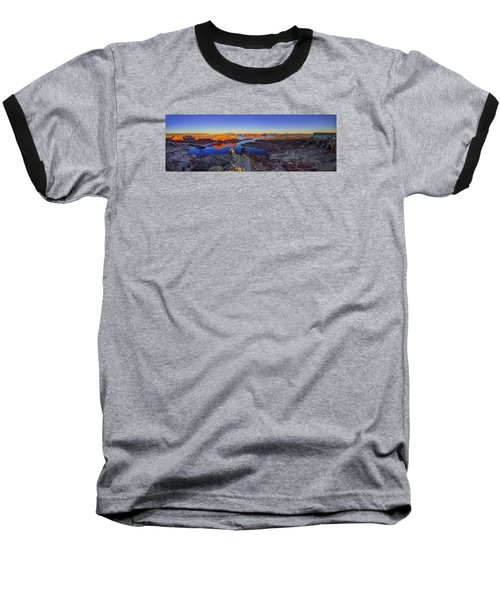 Surreal Alstrom Baseball T-Shirt by Chad Dutson