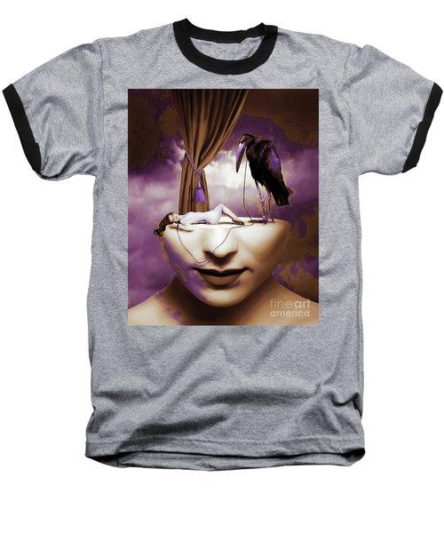 Surreal Art 032 Baseball T-Shirt