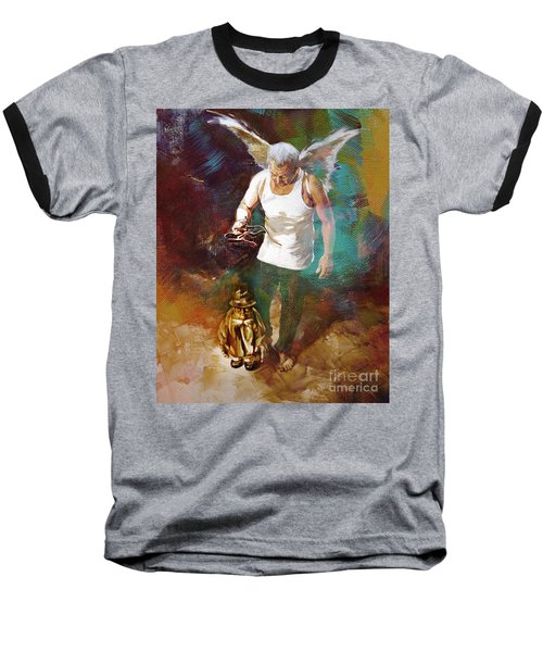 Baseball T-Shirt featuring the painting Surreal Art  by Gull G