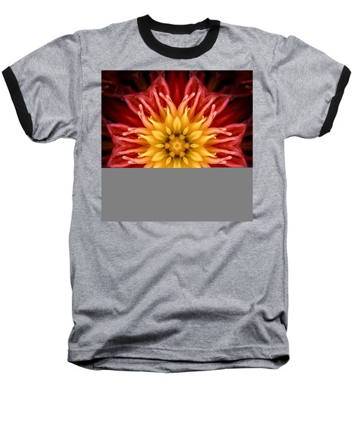 Surreal Flower No.1 Baseball T-Shirt