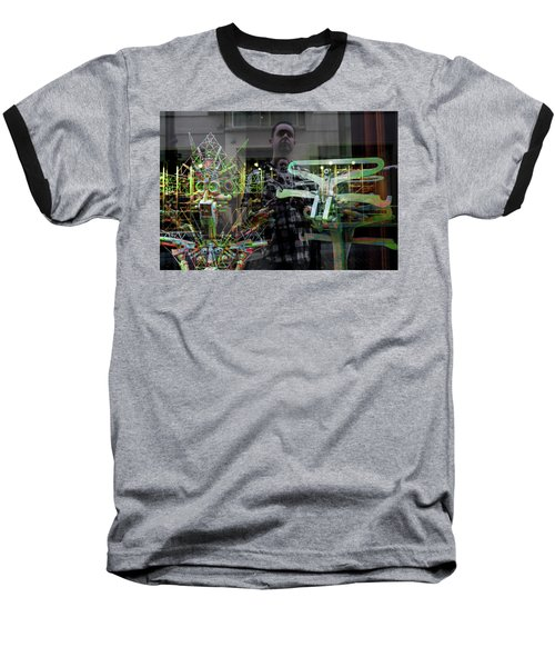 Surreal Introspection Baseball T-Shirt