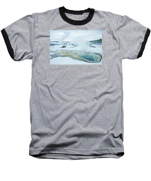 Surreal Landscape Baseball T-Shirt