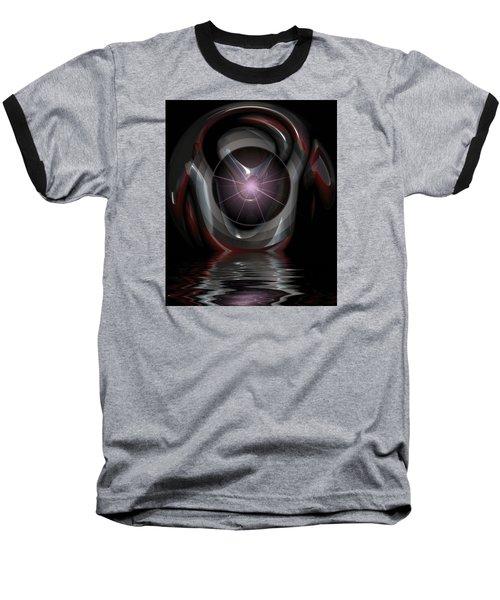 Surreal Reflections Baseball T-Shirt