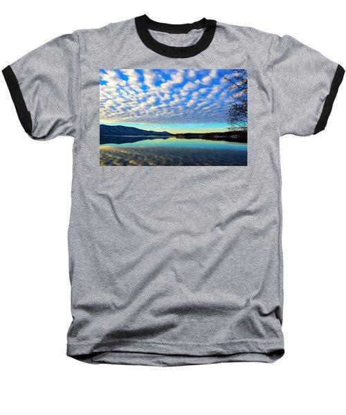 Surreal Sunrise Baseball T-Shirt by The American Shutterbug Society