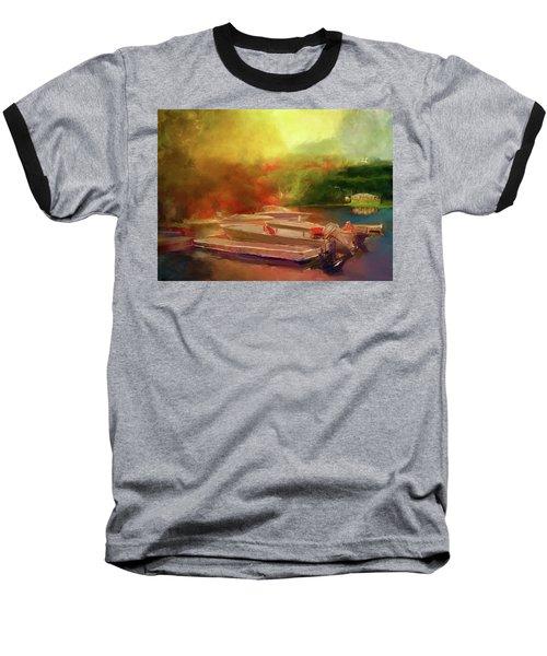 Surreal Sunset In Spanish Baseball T-Shirt