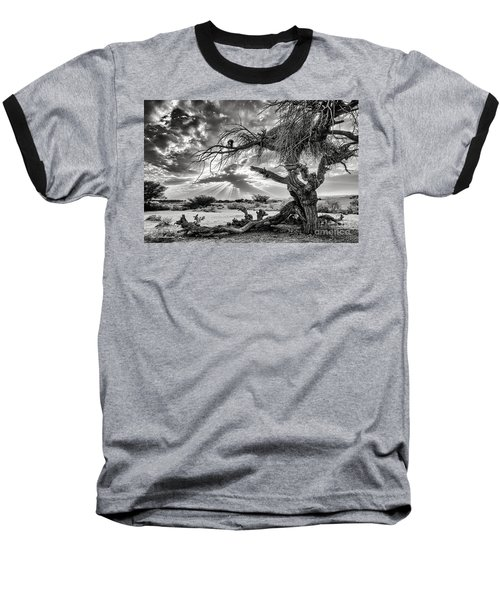 Surrealism At Its Best Baseball T-Shirt by Arik Baltinester