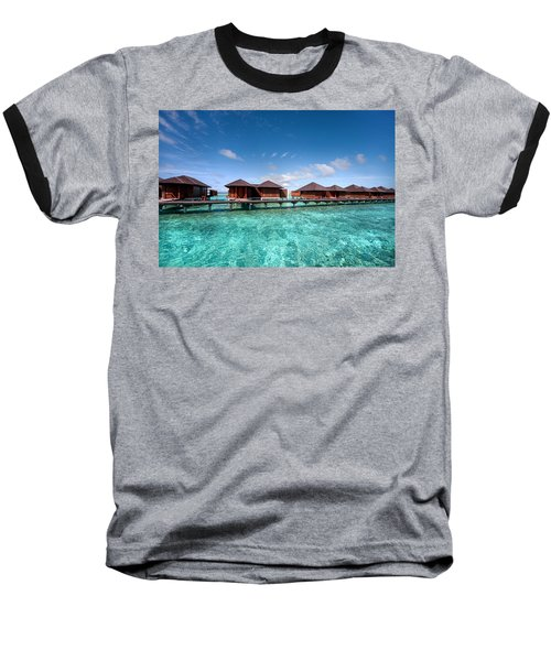 Baseball T-Shirt featuring the photograph Surrounded By Blue by Jenny Rainbow
