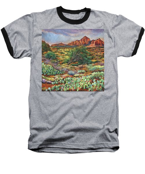 Surrounded By Sedona Baseball T-Shirt