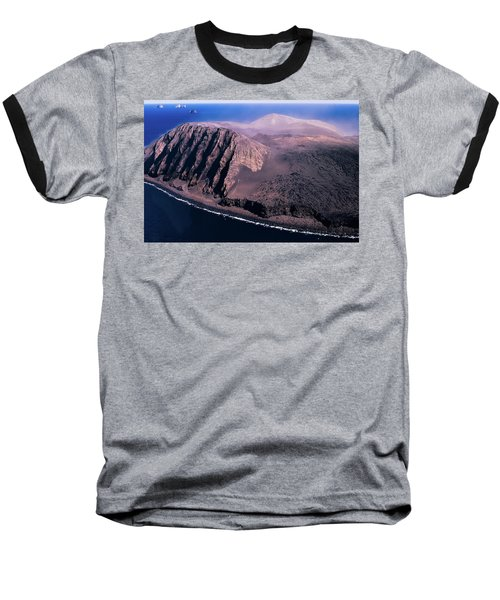 Surtsey In Iceland Baseball T-Shirt