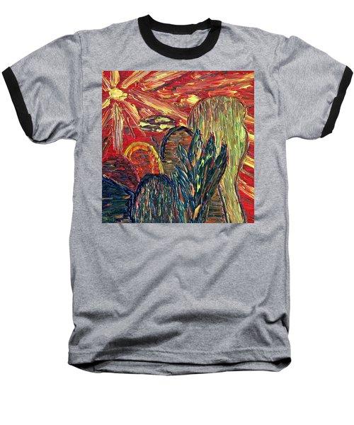 Survival In Desert Baseball T-Shirt by Vadim Levin