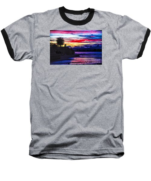 Baseball T-Shirt featuring the photograph Suset Beach by Rick Bragan