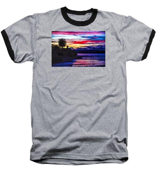 Suset Beach Baseball T-Shirt