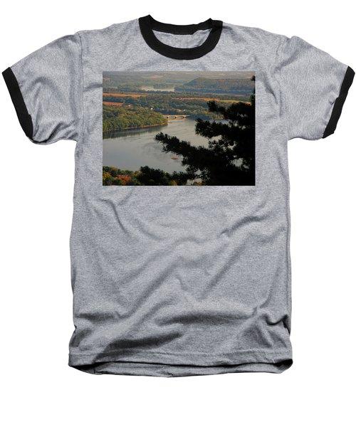 Susquehanna River Below Baseball T-Shirt