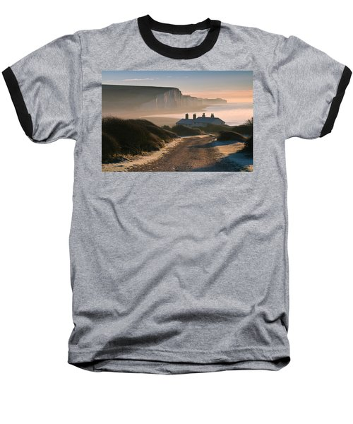 Sussex Coast Guard Cottages Baseball T-Shirt