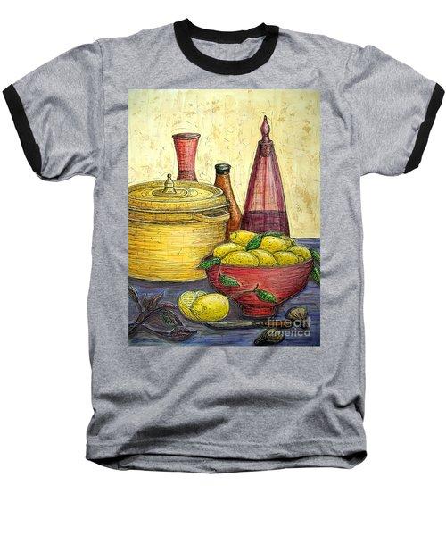 Sustenance Baseball T-Shirt by Kim Jones