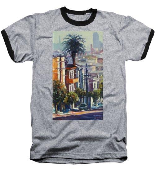 Post Street Baseball T-Shirt by Rick Nederlof