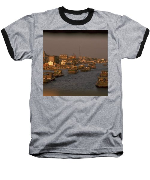 Suzhou Grand Canal Baseball T-Shirt