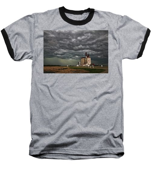 Swallowed By The Sky Baseball T-Shirt