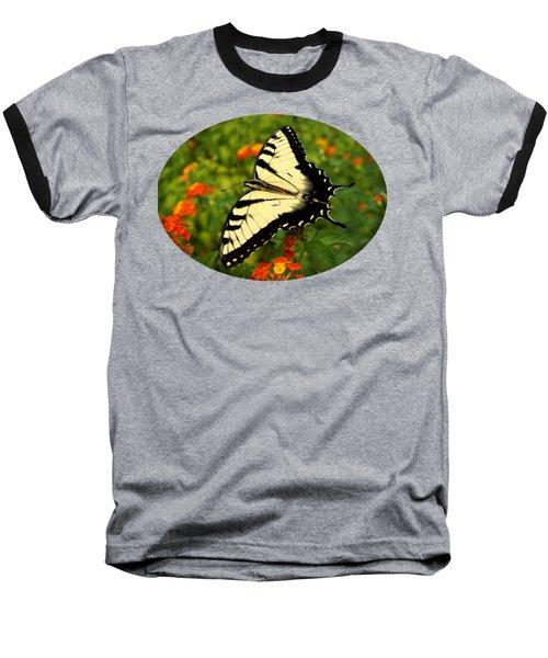Swallowtail Among Lantana Baseball T-Shirt