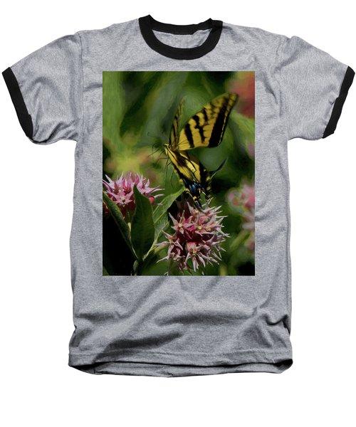 Swallowtail Liftoff Dp Baseball T-Shirt